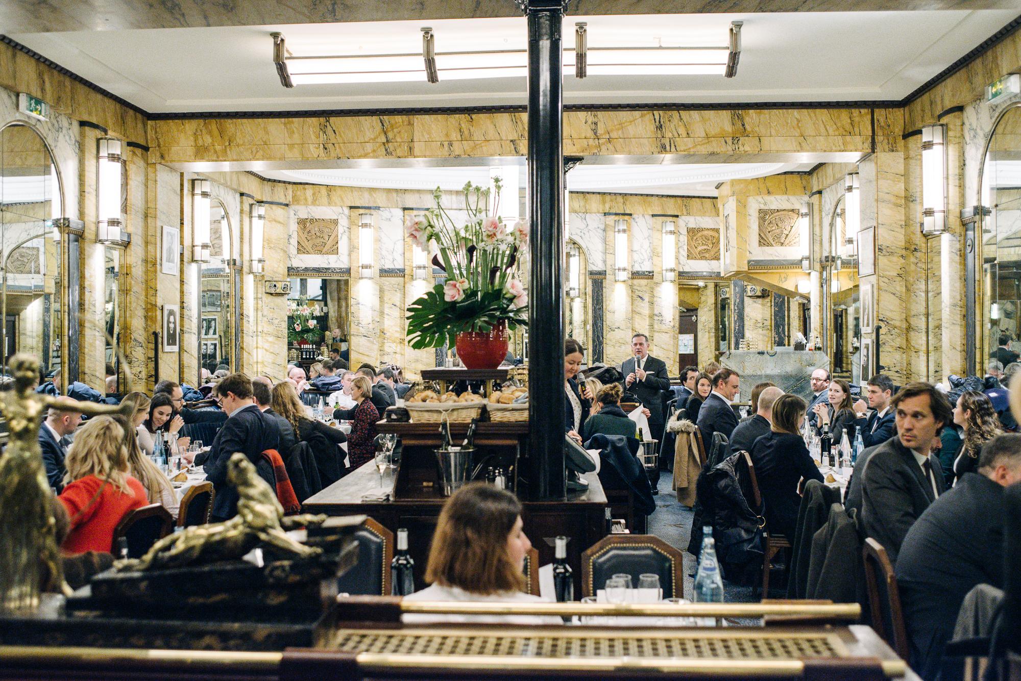 Rencontre Choiseul Russia à Paris – Dîner au Vaudeville