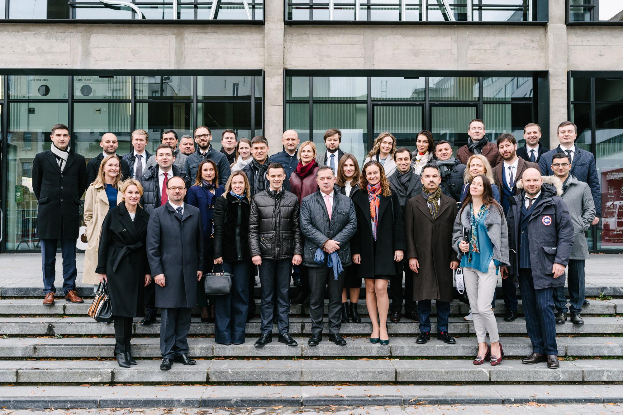 Rencontre Choiseul Russia à Paris – visite de la Station F