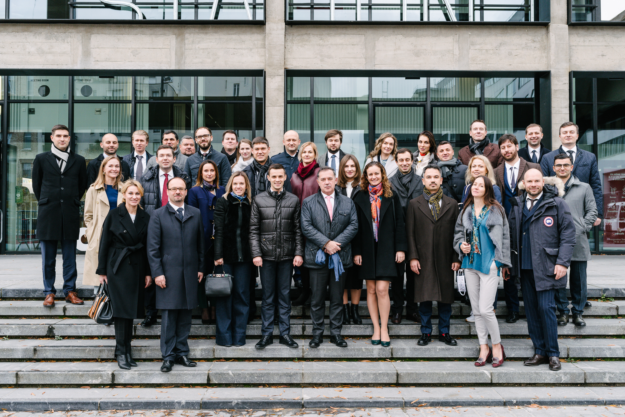 Встреча «Choiseul Франция-Россия» в Париже – Посещение стартап-кампуса «Station F»